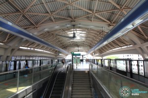 Pioneer MRT Station - Platform level