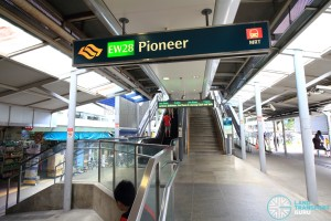 Pioneer MRT Station - Exit A