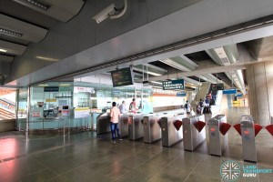 Ticket concourse