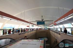 Tampines MRT Station - Platform level