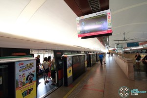 Tampines MRT Station - Platform B