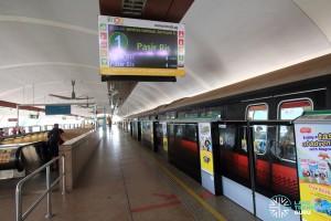 Tampines MRT Station - Platform A