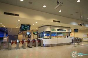 Tanah Merah MRT Station - Passenger Service Centre & Faregates