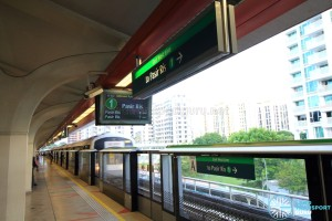 Tanah Merah MRT Station - Platform A (to Pasir Ris)