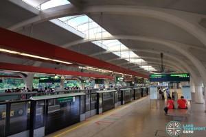 Tanah Merah MRT Station - Platform C (to Changi Airport)