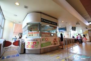 Bedok MRT Station - Passenger Service Centre & Faregates