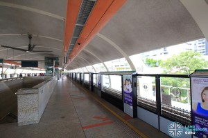 Bedok MRT Station - Platform A