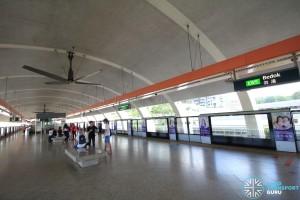 Bedok MRT Station - Platform level