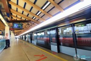 Eunos MRT Station - Platform B