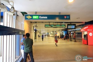 Eunos MRT Station - Exit C