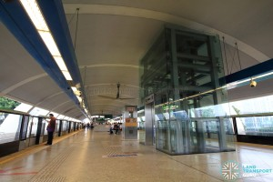 Aljunied MRT Station - Platform level