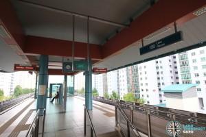 Cove LRT Station - Platform level