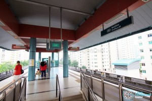 Meridian LRT Station - Platform level