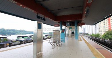 Riviera LRT Station - Platform level