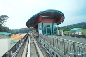Punggol Point LRT Station - Exterior view