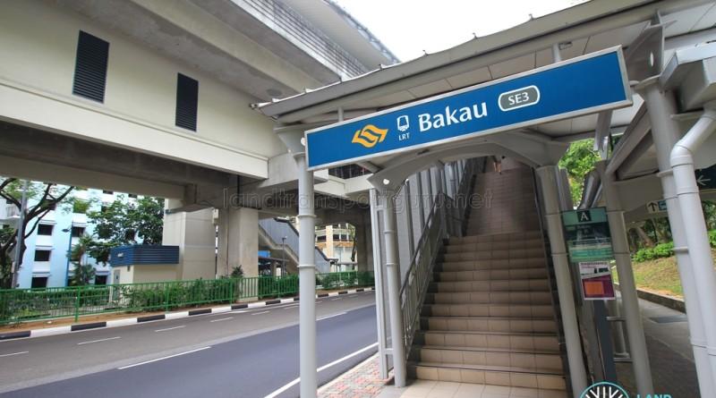 Bakau LRT Station - Exit A