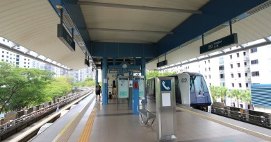 Kangkar LRT Station - Platform level