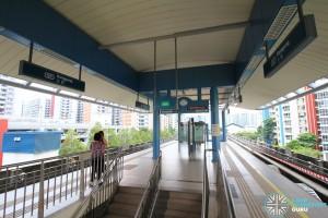 Ranggung LRT Station - Platform level