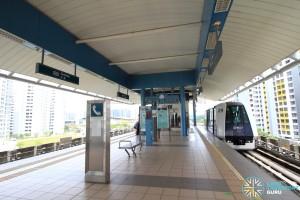 Farmway LRT Station - Platform level