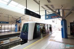 Fernvale LRT Station - Platform 1