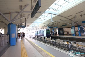 Fernvale LRT Station - Platform level