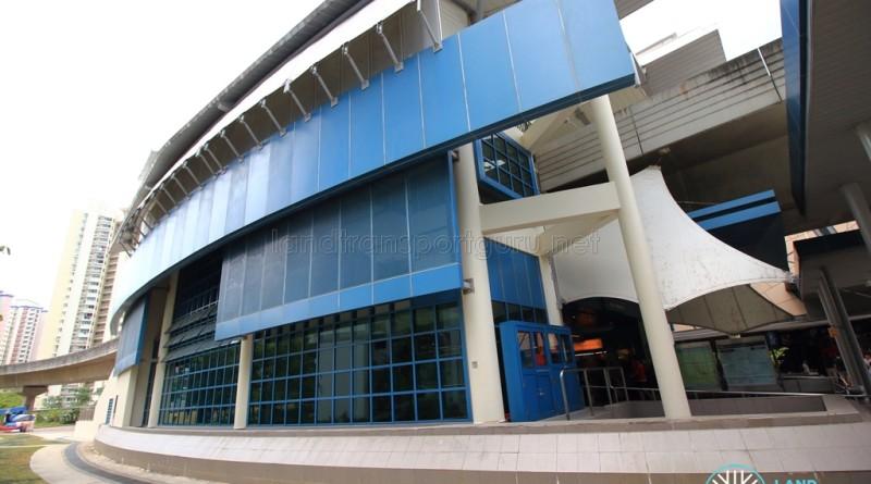 Fernvale LRT Station - Exterior view