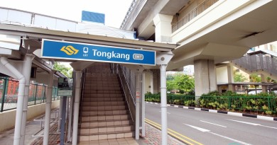 Tongkang LRT Station - Exit A