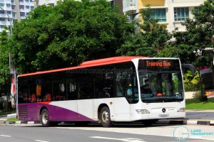 Go-Ahead Mercedes-Benz Citaro (SG1011A) in SBS Transit  base colours