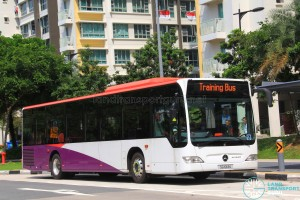 Go-Ahead Mercedes-Benz Citaro (SG1013U) in SBS Transit base colours
