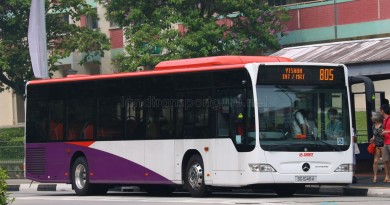 SG1046A on 805 - SMRT Buses Mercedes-Benz Citaro