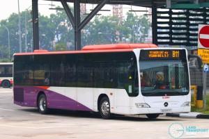 SG1047Y on 811 - SMRT Buses Mercedes-Benz Citaro