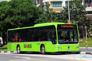Go-Ahead Mercedes-Benz Citaro (SG1069J) in Lush Green