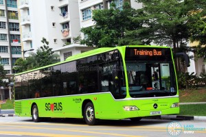 Go-Ahead Mercedes-Benz Citaro (SG1071B) in Lush Green