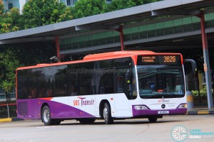 SBS Transit Mercedes-Benz O530 Citaro (SG1081Y) - Service 382G