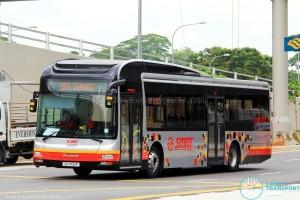 SMRT MAN A22 (SG1702P) - Off Service