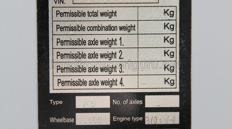 Chassis Information