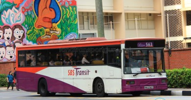 SBST Volvo B10M Mark IV (DM3500) (SBS2782P) on Premium 563