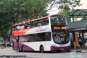 SBST Volvo B9TL (SBS3074T) - Service 240A