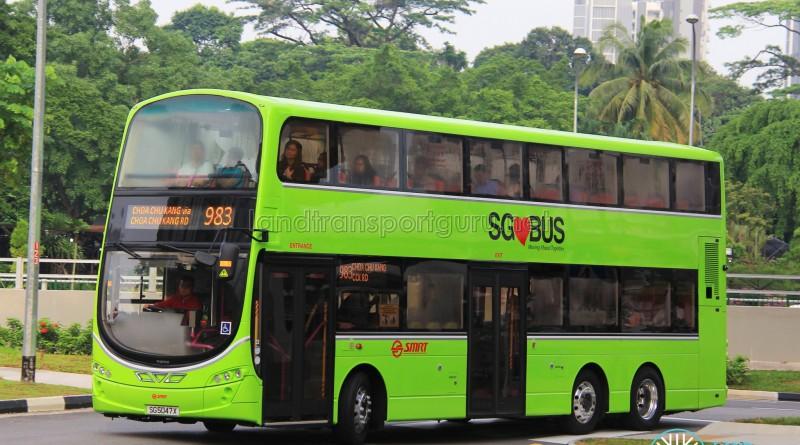 SMRT Volvo B9TL (SG5047X) - Service 983