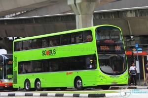 SMRT Volvo B9TL (SG5049R) - Service 180