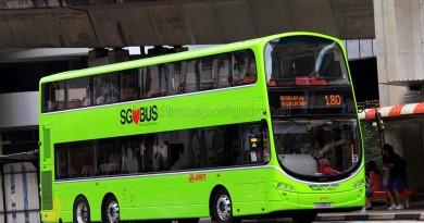 SMRT Volvo B9TL (SG5052E) - Service 180