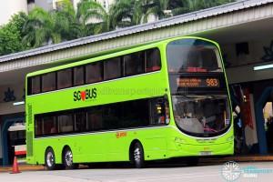 SMRT Volvo B9TL (SG5061D) - Service 983