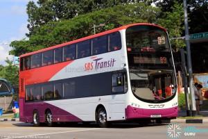 SBS Transit Volvo B9TL (SG5185E) - Service 89