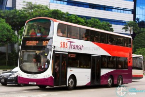 SBS Transit Volvo B9TL Wright (SG5310K) - Service 147