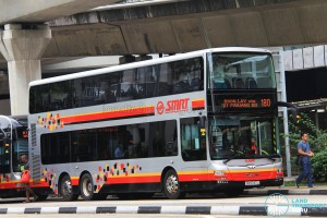 SMRT MAN A95 (SG5747J) - Service 180