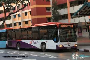 SBST Mercedes-Benz O530 Citaro (SBS6012G) - Service 53B (Withdrawn)