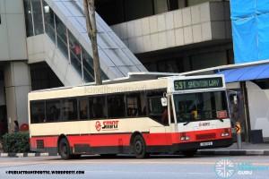 SMRT Mercedes-Benz O405 (TIB618B) - Premium 531