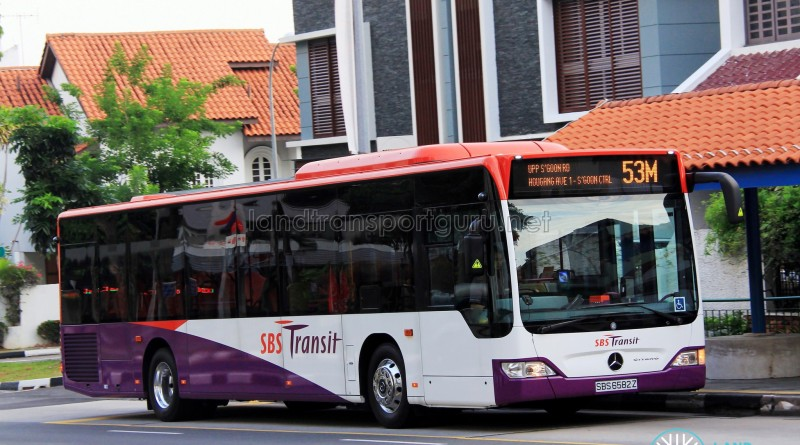 SBS6582Z on 53M - SBS Transit Mercedes-Benz Citaro