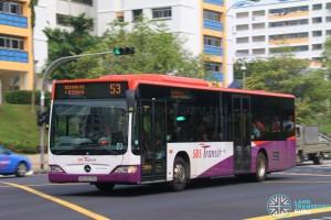 SBS6687G on 53 - SBS Transit Mercedes-Benz Citaro