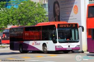 SBS Transit Mercedes-Benz Citaro (SBS6754U) - Service 3A